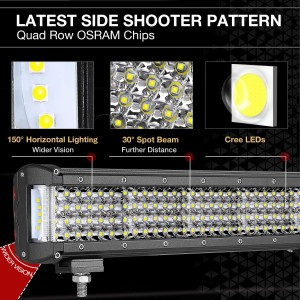 30'' 548W Side Shooter LED Light Bar