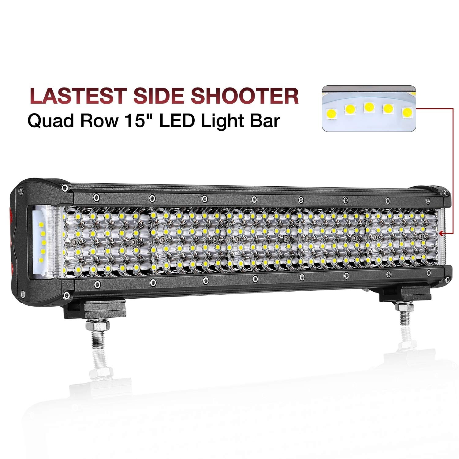 15'' 260W Side Shooter LED Light Bar