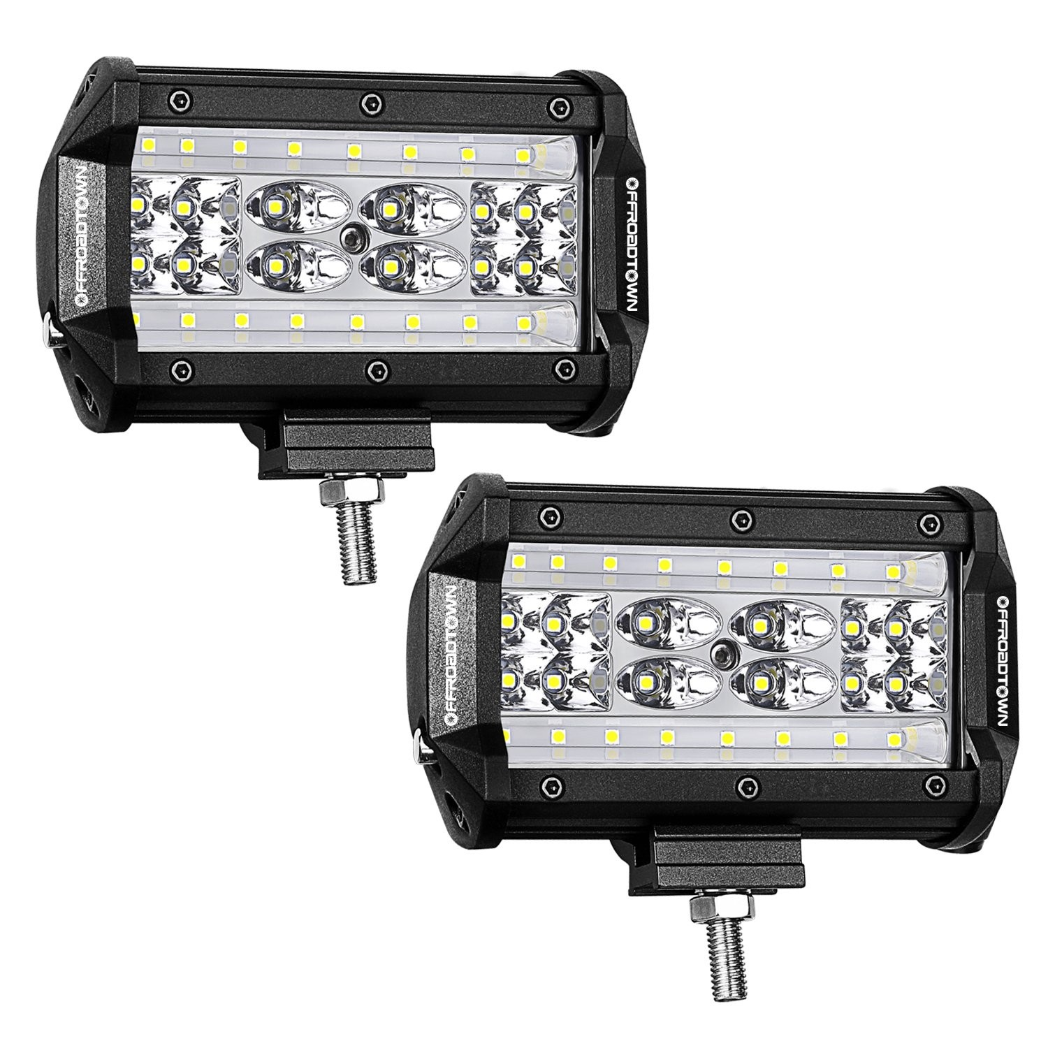 5'' 168W QUAD Row LED Pods