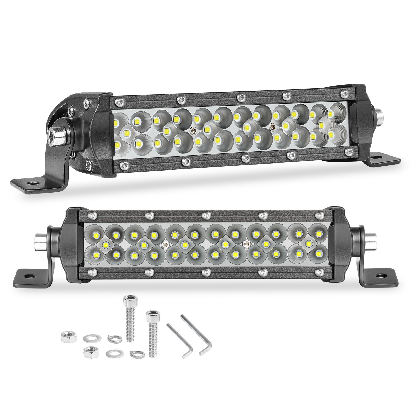 6'' 120W  Slim LED Pods Combo Light