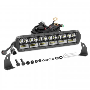 12 Inch LED Light Bar, OFFROADTOWN 162W LED Driving Light Spot Flood Combo Beam Off Road Light Bar Fog Lights for Truck Vehicle ATV UTV SUV Ford Boat