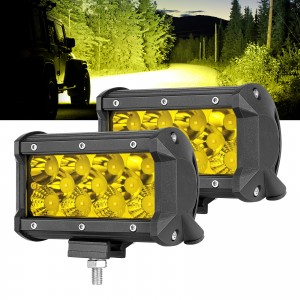 "5"" 132W Yellow LED Fog Light"