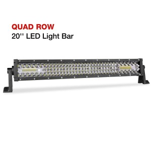 20'' 150W Quad Row Light Bar