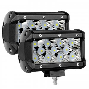 2PCS 5inch 176W Combo LED Pods