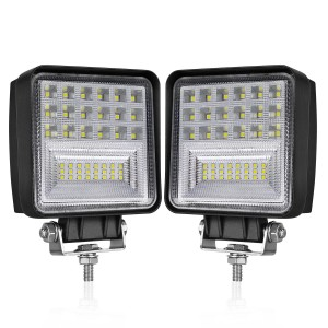 4'' 84W Square Cmobo LED Pods