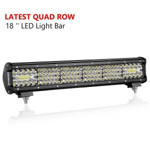 18'' 272W Quad Row Light Bar