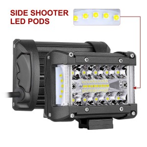 "4"" 120W Side Shooter LED Pods"