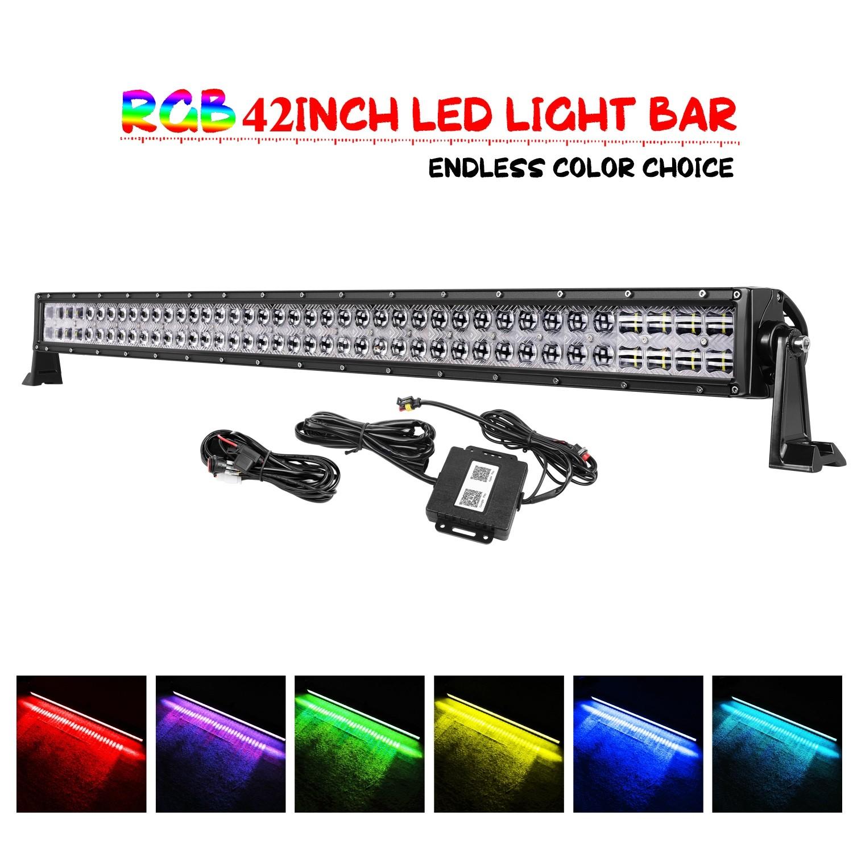 42'' 240W RGB Light Bar
