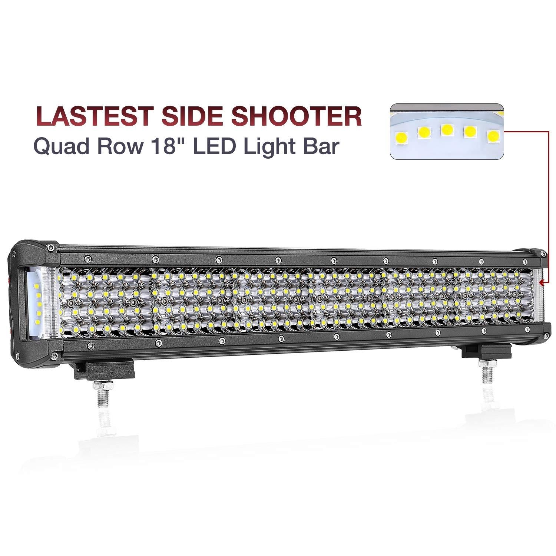 18'' 308W Side Shooter LED Light Bar