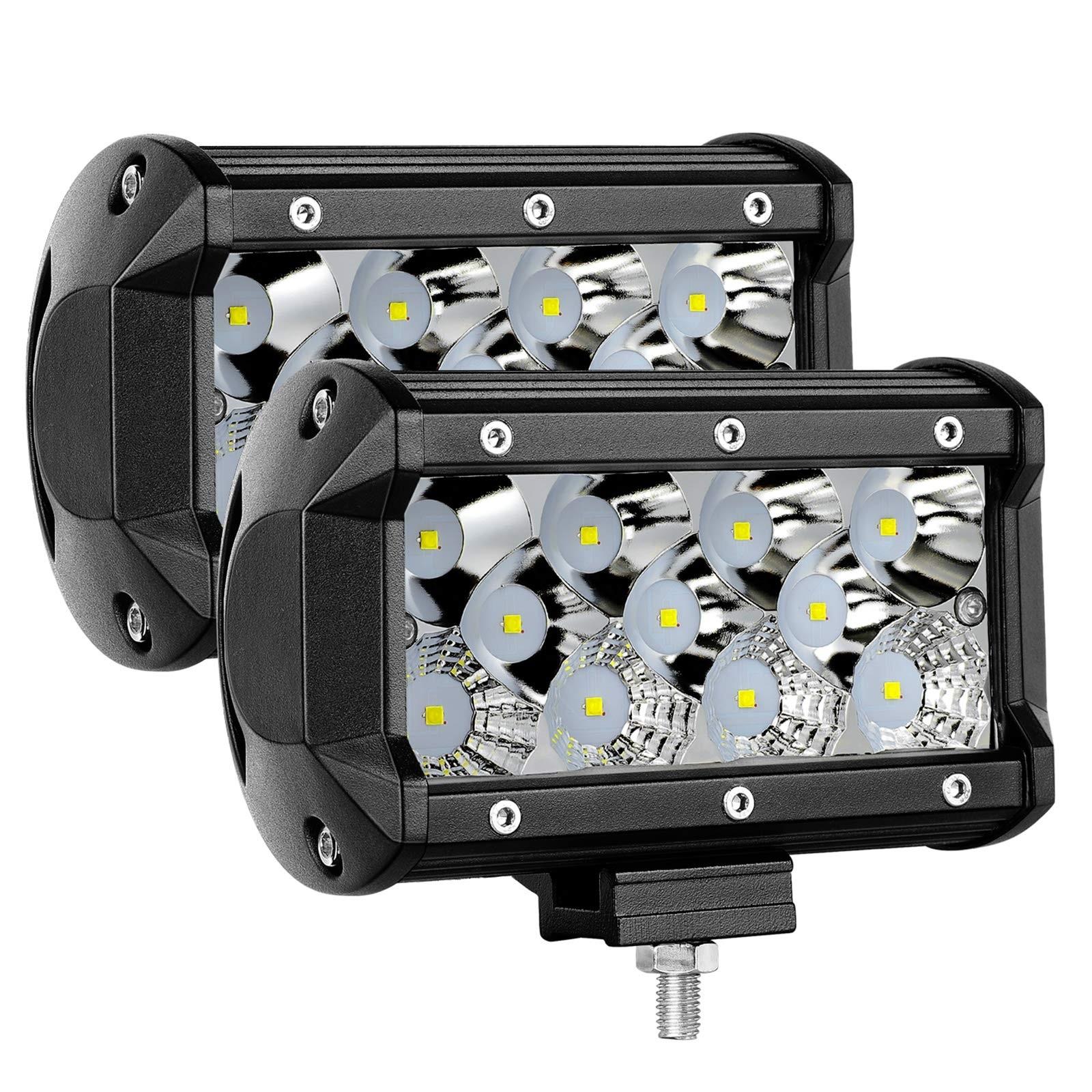2PCS 5inch 176W Combo LED Pods
