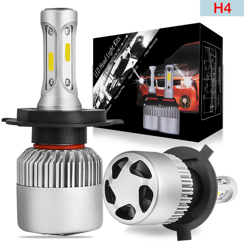 LED Headlight Bulbs H4
