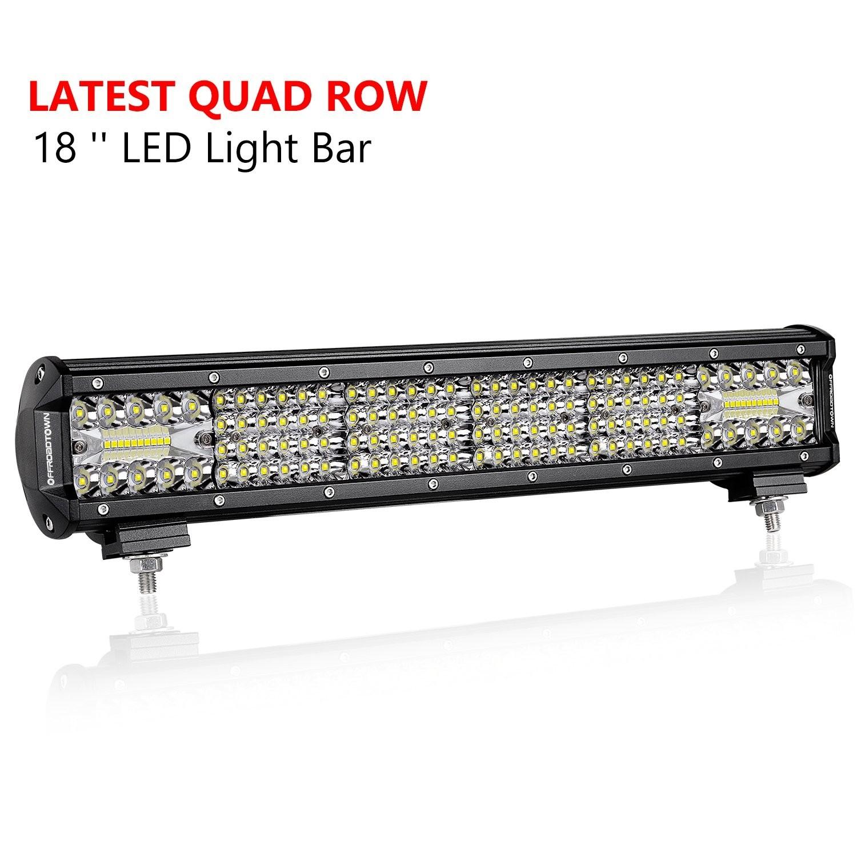 18'' 272W Quad Row Light Bar