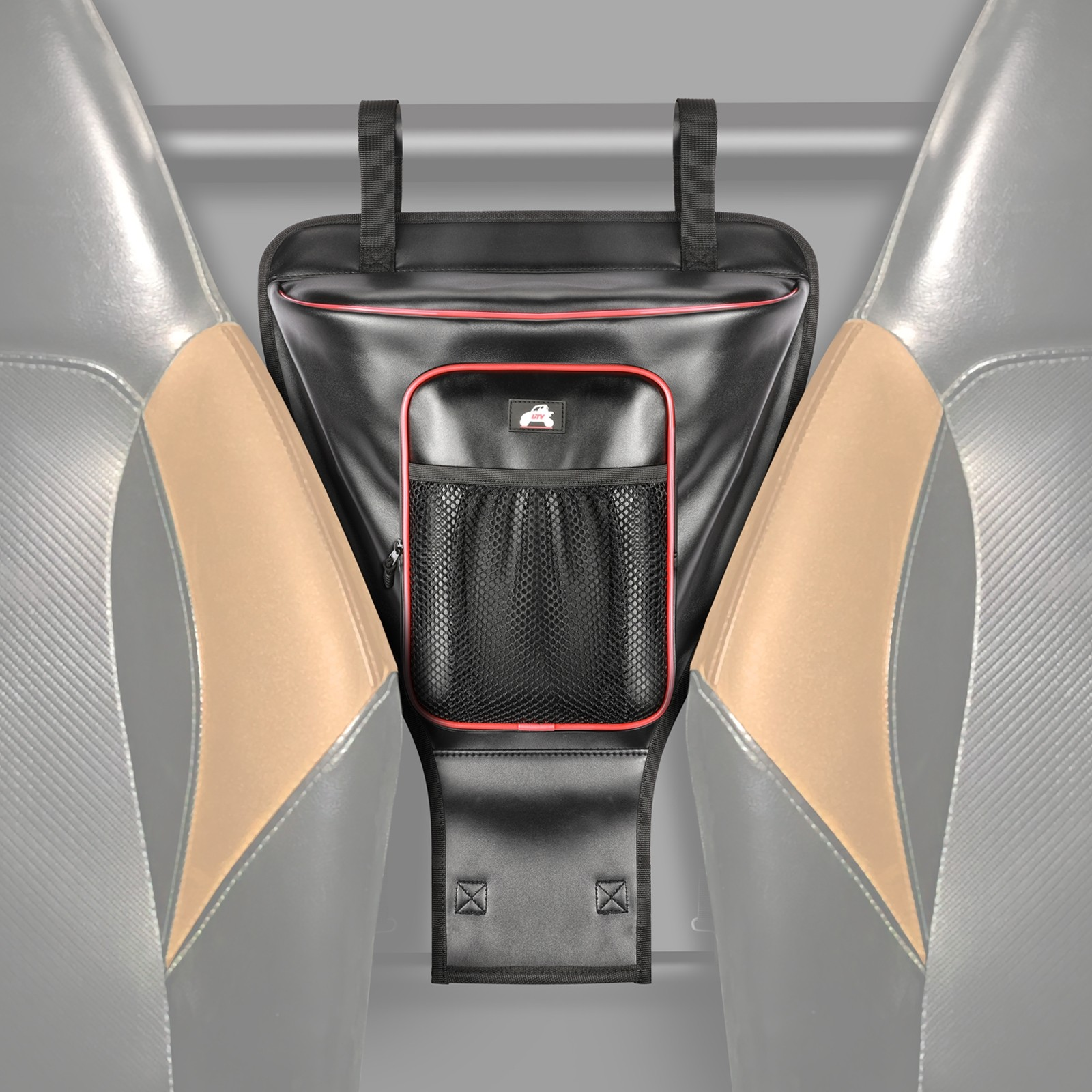 RZR Storage Bag, OFFROADTOWN UTV Cab Pack Center Seat Bag Compatible with Polaris RZR 570 S 900 1000 XP Turbo