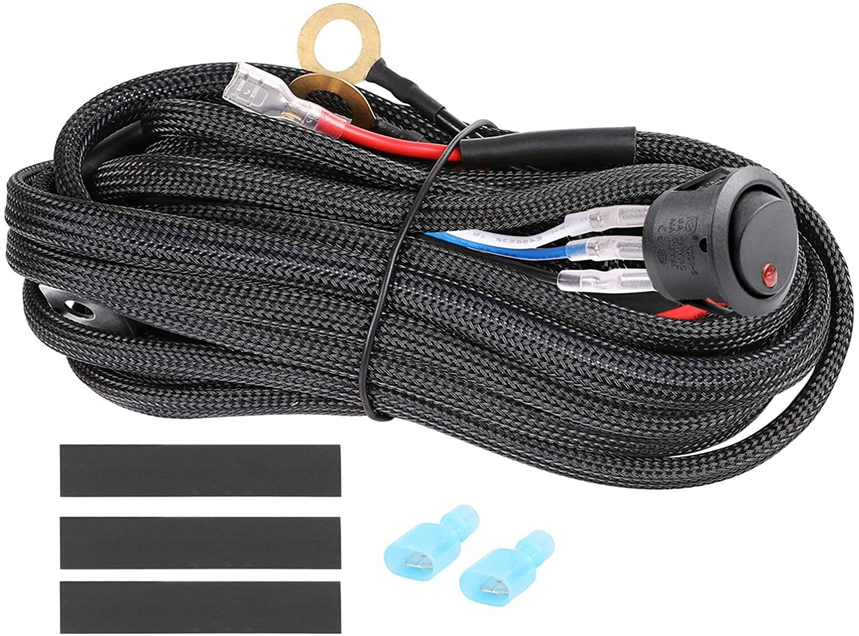 1 Lead LED Light Bar Wiring Harness