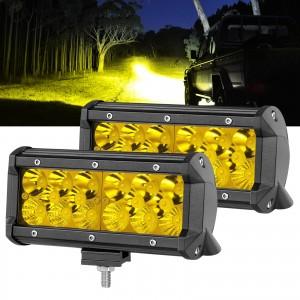 "7"" 192W Yellow LED Fog  Light"