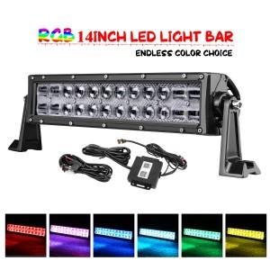 14'' 72W RGB Light Bar