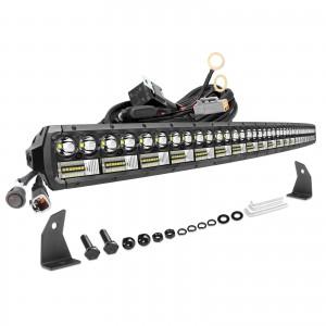 54 Inch LED Light Bar, OFFROADTOWN 702W LED Driving Light Spot Flood Combo Beam Off Road Light Bar Fog Lights for Truck Vehicle UTV SUV Ford Boat