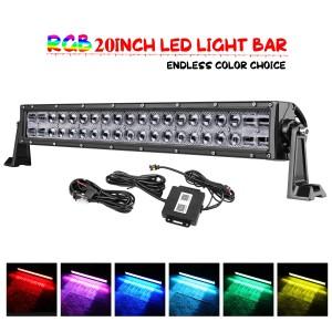20'' 120W RGB Light Bar
