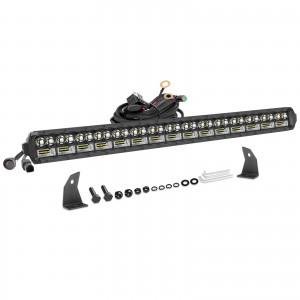 30 Inch LED Light Bar, OFFROADTOWN 405W LED Driving Light Spot Flood Combo Beam Off Road Light Bar Fog Lights for Truck Vehicle ATV UTV SUV Ford Boat