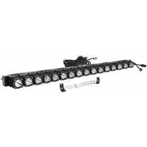 40 Inch LED Light Bar with Wiring Harness, OFFROADTOWN Flex Series Light Kit Off Road Lights 320W LED Fog Light IP68 Waterproof LED Driving Light Bar for Trucks SUV UTV Boat