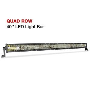 40'' 310W Quad Row LED Light Bar