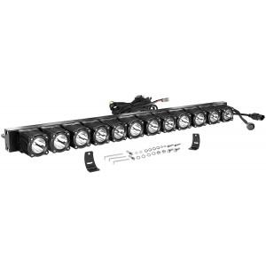 30 Inch LED Light Bar with Wiring Harness, OFFROADTOWN Flex Series Light Kit Off Road Driving Light 240W LED Fog Light IP68 Waterproof LED Driving Work Light Bar for Trucks SUV UTV Boat