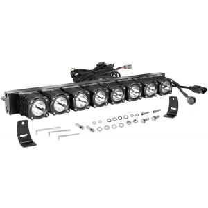 20 Inch LED Light Bar with Wiring Harness, OFFROADTOWN Flex Series Light Kit Off Road Driving Light 160W LED Fog Light IP68 Waterproof LED Driving Work Light Bar for Trucks SUV UTV Boat