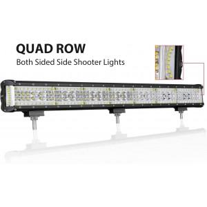 Quad Row LED Driving Light Spot Flood Combo Beam Off Road Light for Vehicle Truck Jeep Wrangler ATV UTV SUV Ford Boat