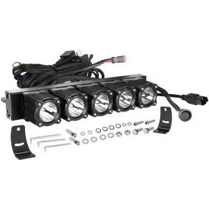 12 Inch LED Light Bar with Wiring Harness, OFFROADTOWN Flex Series Light Kit Off Road Lights 100W LED Fog Light IP68 Waterproof LED Driving Light Bar for Trucks SUV UTV Boat